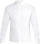 A.P.C. Button-down collar cotton shirt