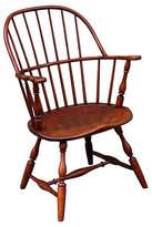 One Kings Lane Vintage 18th-C. Sack-Back Windsor Armchair