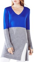 BCBGMAXAZRIA Mackie Color-Blocked Tunic Sweater