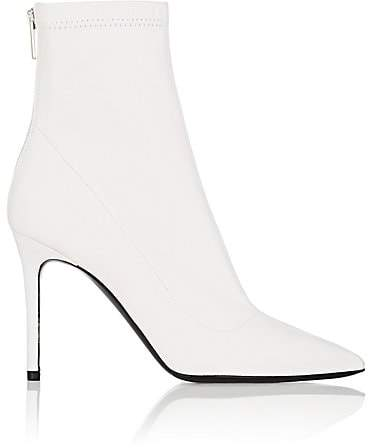 Barneys New York Women's Lula Leather Ankle Boots - White