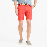 "J.Crew 9"" Short In Garment-Dyed Oxford Cloth"