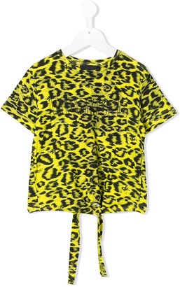 John Richmond Junior leopard print T-shirt