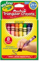 Crayola My First Washable Triangular Wax Crayons