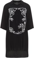 Vento Maro Plus Size Ornament print tunic