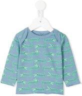 Stella McCartney crocodile print T-shirt - kids - Cotton - 3 mth