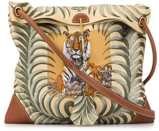 Hermes Pre Owned City PM tiger print shoulder bag