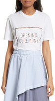 Opening Ceremony Ladder Stitch Logo Tee