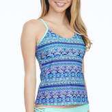 Arizona Stripe Tankini Swimsuit Top-Juniors