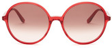 Valentino Women&s Round Sunglasses