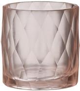 DAY Birger et Mikkelsen Diamond Handcut Glass Votive - Summer Blush - 8x8cm