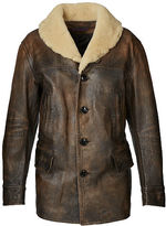 Ralph Lauren Denver Leather Ranch Coat