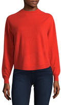 Vince Shirttail Crewneck Sweater