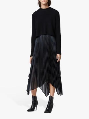 AllSaints Lerin Jumper Knit Dress