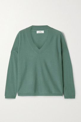 Arch4 Linda Cashmere Sweater - Gray green