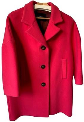 Tara Jarmon Pink Wool Coat for Women