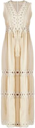 Gisy Primrose Lace Trim Ankle Dress