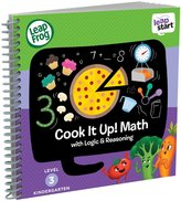 Leapfrog LeapStart Kindergarten Activity Book: Cook It Up! Math and Logic & Reasoning