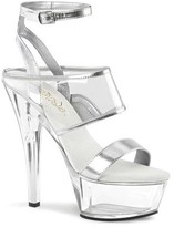 Pleaser USA Women's Kiss 260 Ankle Strap Sandal