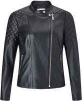 Jigsaw Nappa Leather Biker Jacket