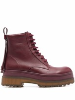 Thumbnail for your product : Red(V) Tassel-Detail Ankle Boots