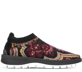 Etro patterned running sneakers