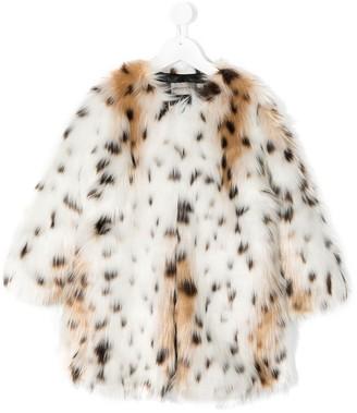 Ermanno Scervino Leopard-Print Coat
