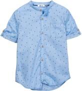 Dex Pattern Short Sleeve Button Shirt (Little Boys & Big Boys)