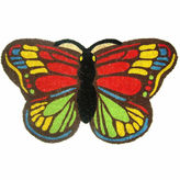 Asstd National Brand Colorful Butterfly Rectangular Doormat - 18X30