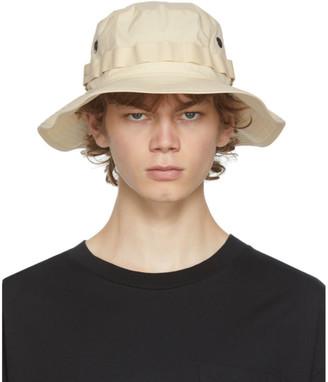 Acne Studios Beige Brom Parka Bucket Hat