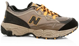 New Balance 801 Mix Media Leather Trek Sneakers