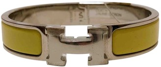 Hermã ̈S HermAs Clic H Yellow Metal Bracelets