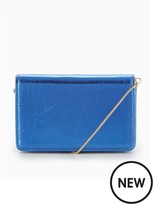 Miss Selfridge Blue Cross Body Bag