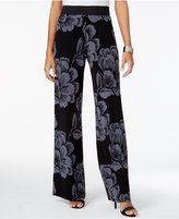 Alfani Printed Palazzo Pants, Only at Macy's