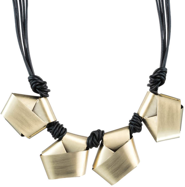 Alexis Bittar Folded Knot Reversible Necklace