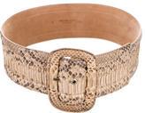 Michael Kors Python Waist Belt