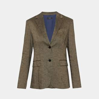 Theory Textured Linen Classic Blazer
