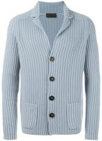 Iris von Arnim ribbed cardigan - men - Cashmere - M