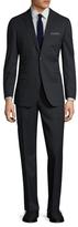 English Laundry Tartan Plaid Notch Lapel Suit