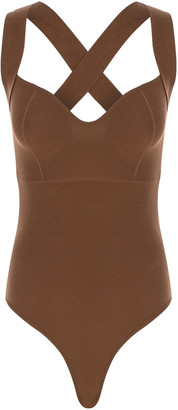 Zeynep Arcay Vintage Stretch Jersey Bodysuit