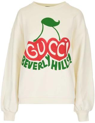 Gucci Beverly Hills Cherry Print Sweatshirt