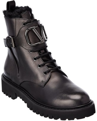 Valentino Leather Boot