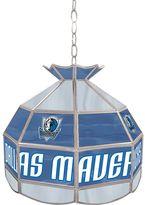 """Dallas Mavericks 16"""" Tiffany-Style Lamp"""
