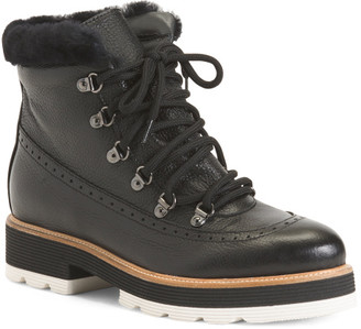 Made In Italy Leather Boots