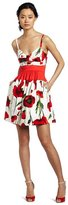 Jessica Simpson Sleeveless Floral Cocktail Dress JS2P3632