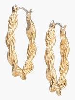 Talbots Twisted-Rope Hoops