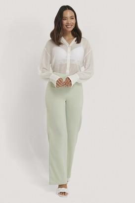 NA-KD Satin Suit Pants
