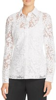 St. Emile Amy Sheer Lace Shirt