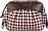 Kalencom Jazz Tote Style Diaper Bag - Heavenly Dots (Pink & Chocolate)