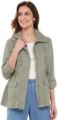 Croft & Barrow Women's Soft Utility Jacket