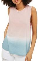 Topshop Women's Dip Dye Tank